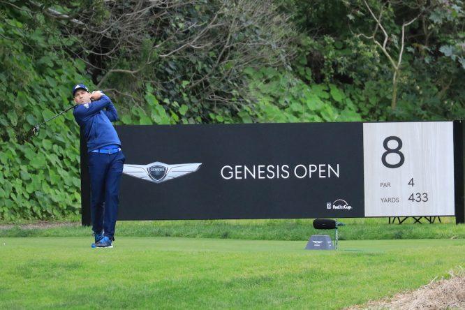 Sergio García, este viernes en Riviera CC. © Golffile | Phil Inglis