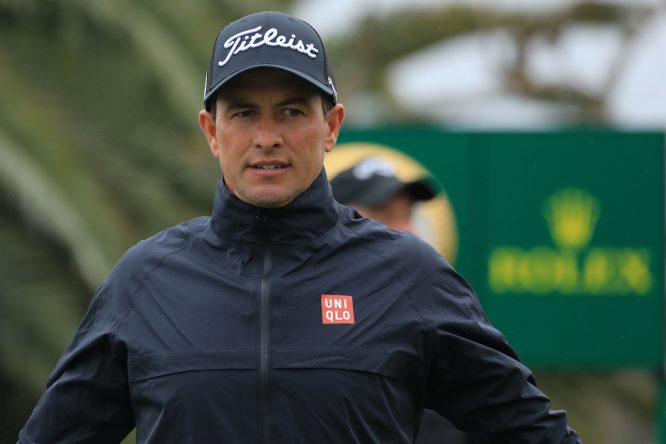 Adam Scott, en el Pro-Am del Genesis Open © Golffile | Phil Inglis