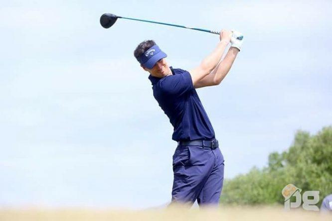 Gonzalo Vicente, colíder del Ein Bay Open del Alps Tour tras la primera jornada en Sokhna Golf Club.