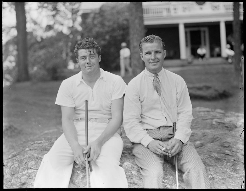 Lawson Little y Johnny Goodman.