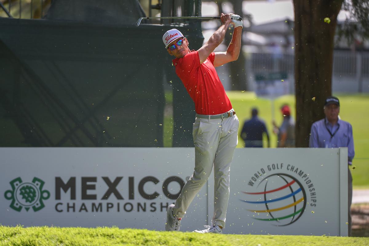 Rafa Cabrera Bello en la primera jornada del WGC Mexico Championship. © Golffile | Ken Murray