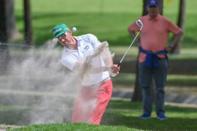 Rafa Cabrera Bello, la semana pasada durante la tercera ronda del WGC México Championship. © Golffile | Ken Murray