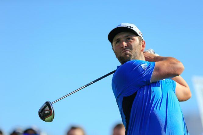 Jon Rahm, esta semana en el Phoenix Open. © Golffile | Fran Caffrey