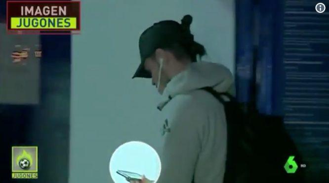 Bale, llegando al Ciudad de Valencia © La Sexta