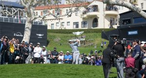 Dustin Johnson, en el Genesis Open © Genesis Openº