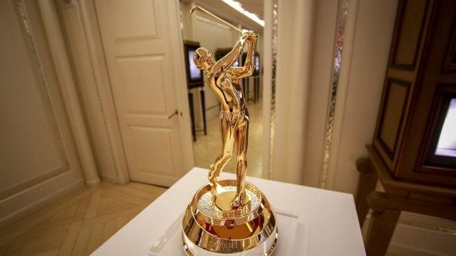 El nuevo trofeo del THE PLAYERS Championship.