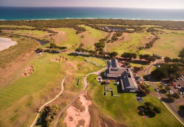 El precioso club 13th Beach Golf Links que acoge el Vic Open.