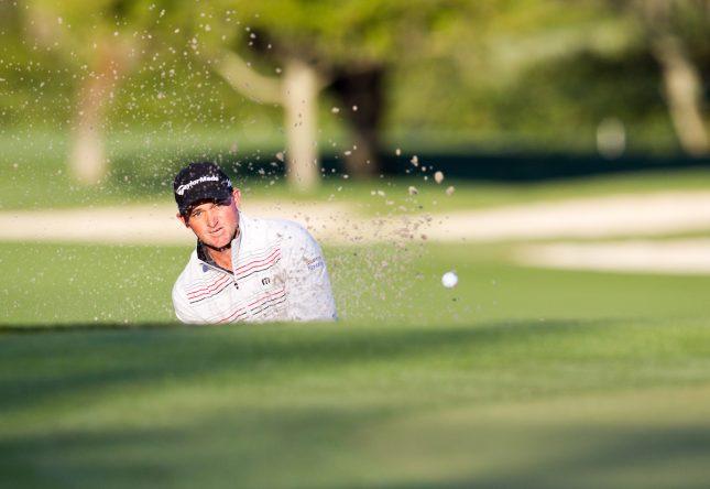 Sam Saunders, nieto de Arnold Palmer, jugará con Rafa Cabrera Bello. © Golffile   Fran Caffrey