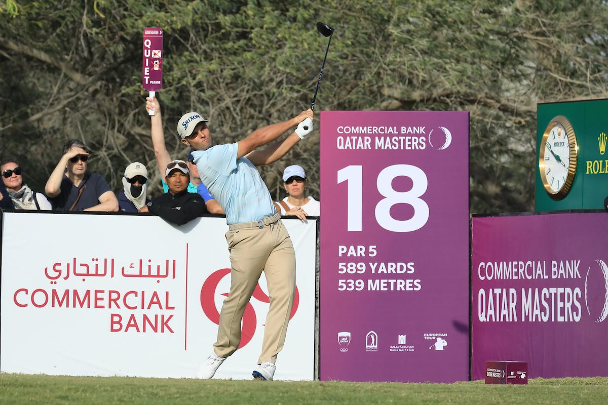 Adri Arnaus en la tercera ronda en Qatar. © Golffile | Phil Inglis
