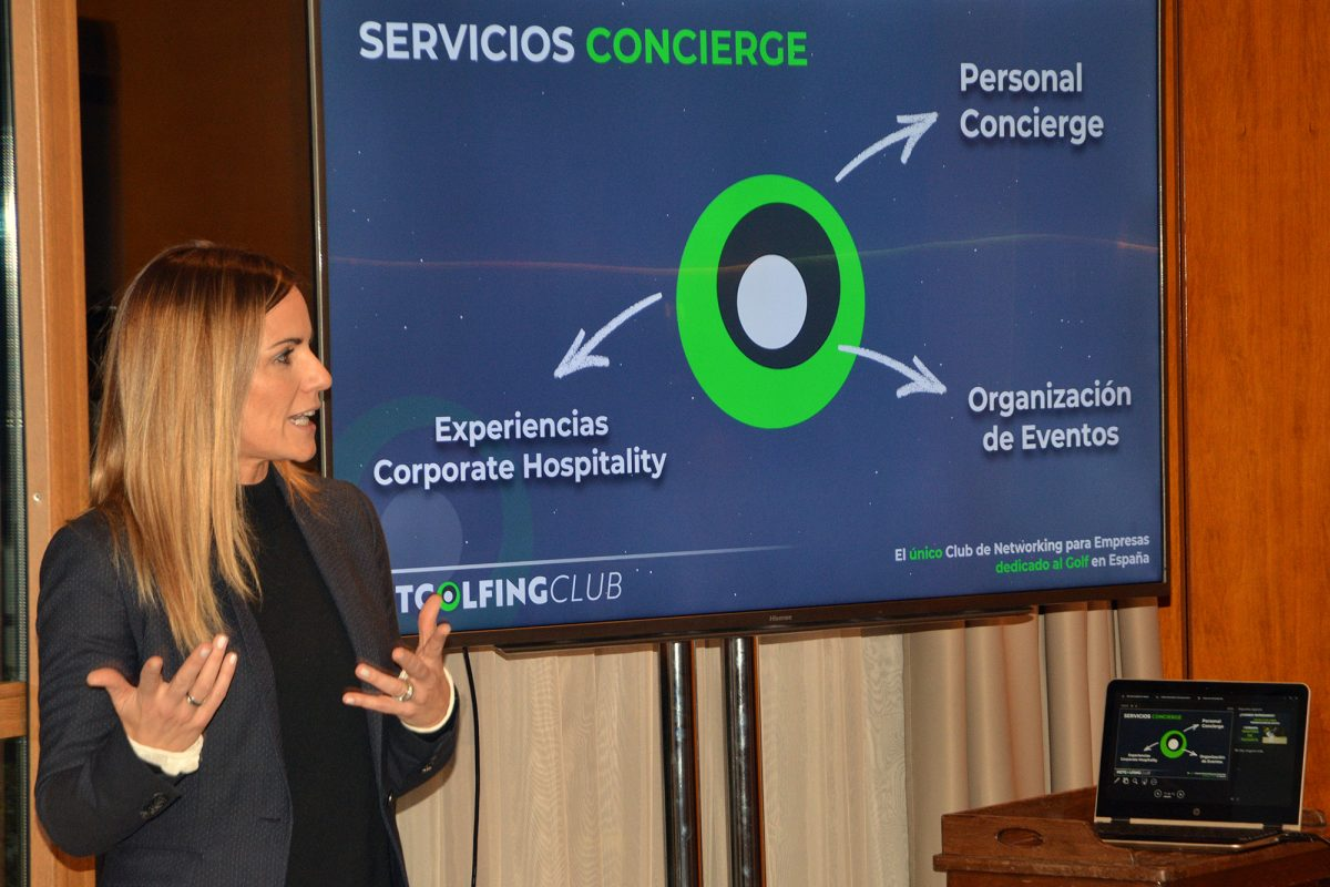 Presentación de Netgolfing Club. © Executive Golf