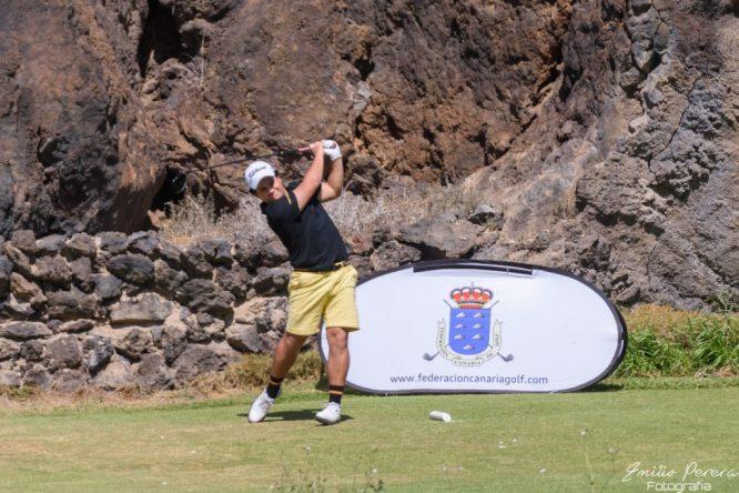 Jorge Maicas. © Federación Canaria de Golf