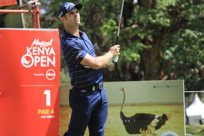 Adri Arnaus durante la primera jornada del Magical Kenya open. © Golffile | Phil Inglis