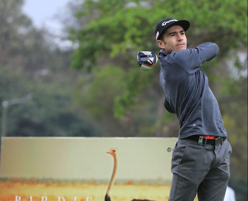 Iván Cantero durante la segunda ronda en el Karen Country Club. . © Golffile | Phil Inglis