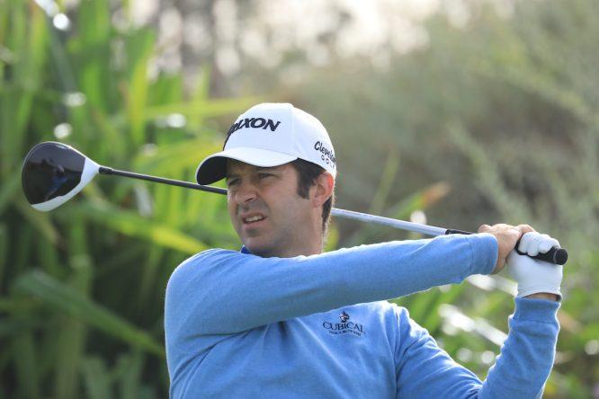 Jorge Campillo hoy en Oman. © Golffile | Phil Inglis