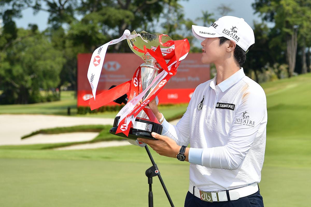 Sung Hyun Park. © Naratip Golf Srisupab | Golffile