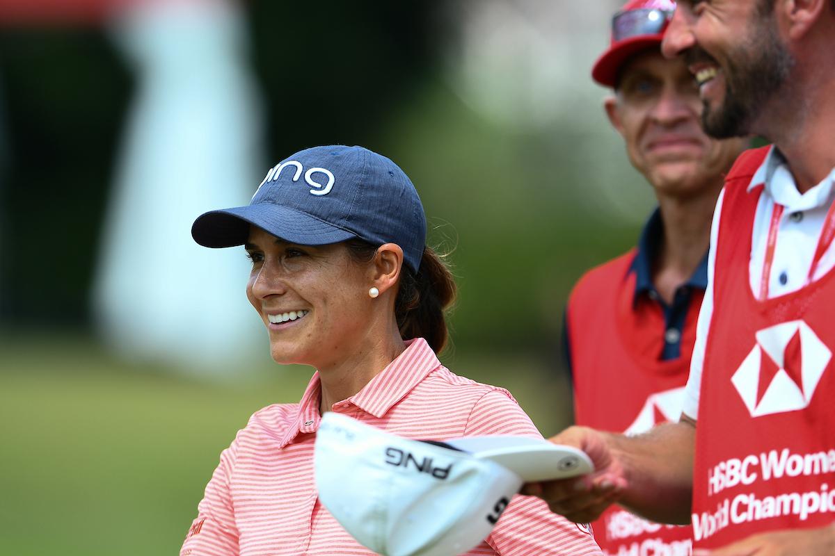 Azahara Muñoz. © Naratip Golf Srisupab | Golffile