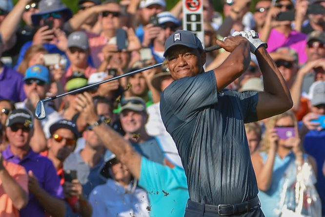 Tiger Woods, en Sawgrass. © Golffile | Ken Murray