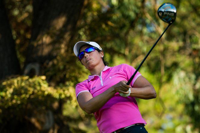 Carmen Alonso, durante la primera vuelta del NSW Open. © Tristan Jones