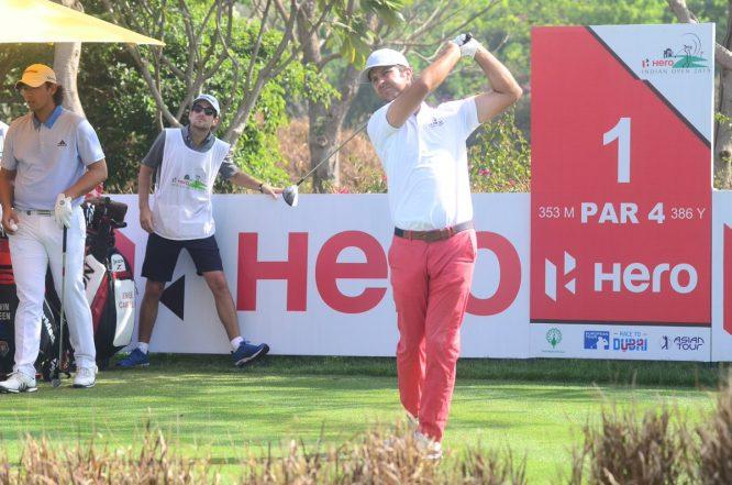 Jorge Campillo. © Hero Indian Open