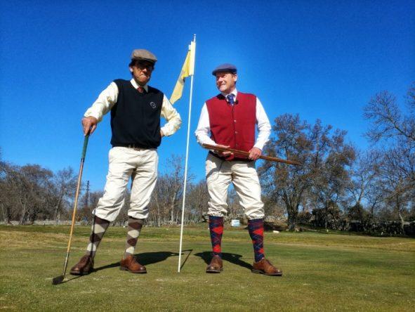 Miguel Carrasco y Freddy Lilly. © Federación de Golf de Madrid