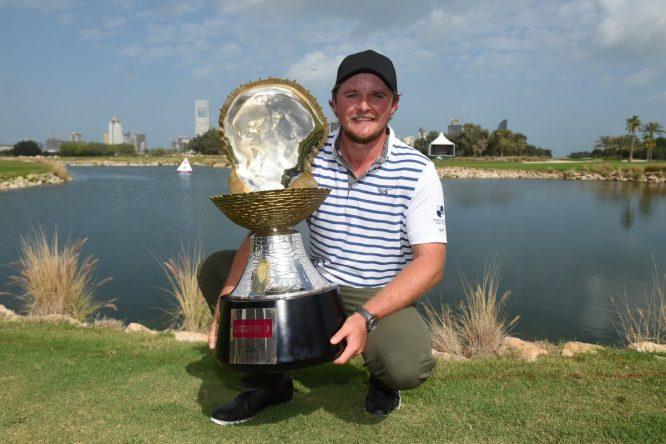Eddie Pepperell, ganador el pasado año © Qatar Masters