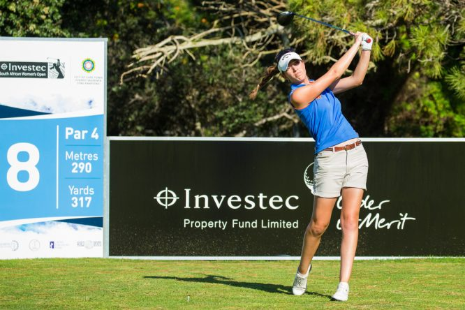 Silvia Bañón, durante la segunda ronda en Sudáfrica. © Tristan Jones