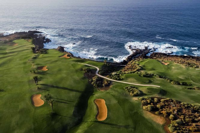 El espectacular recorrido Buenavista Golf en Tenerife.