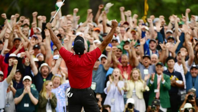 Tiger Woods, ganador del Masters 2019 © The Masters