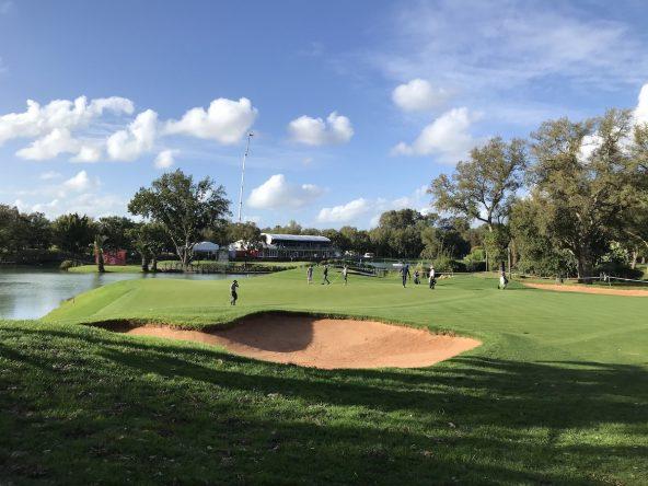 El green del hoyo 17 del Royal Golf Dar Es Salam. © Tengolf