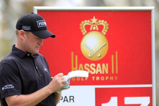 Jamie Donaldson en el Hassan II de 2018. © Golffile | Phil Inglis