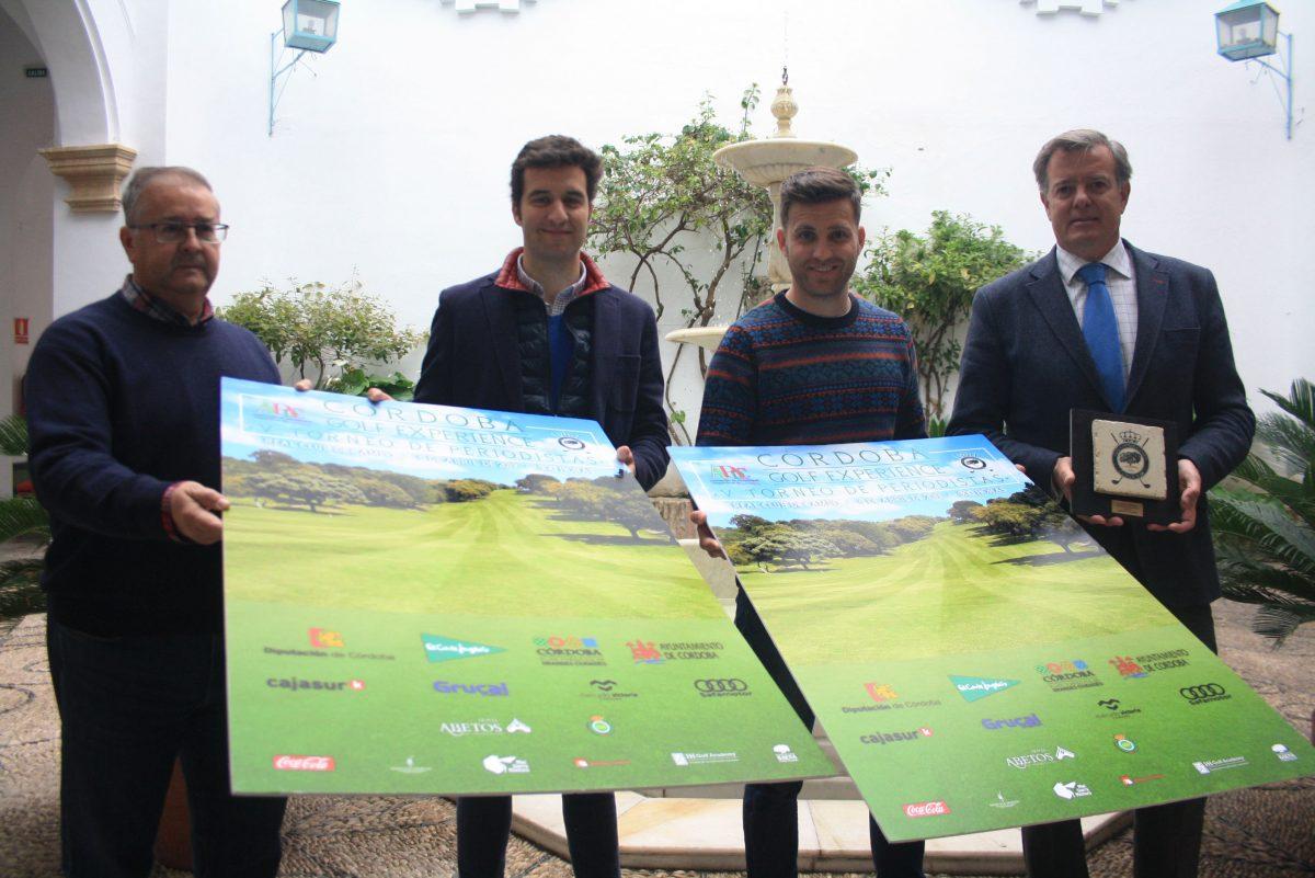 Presentación del V Torneo de Periodistas 'Córdoba Golf Experience'.