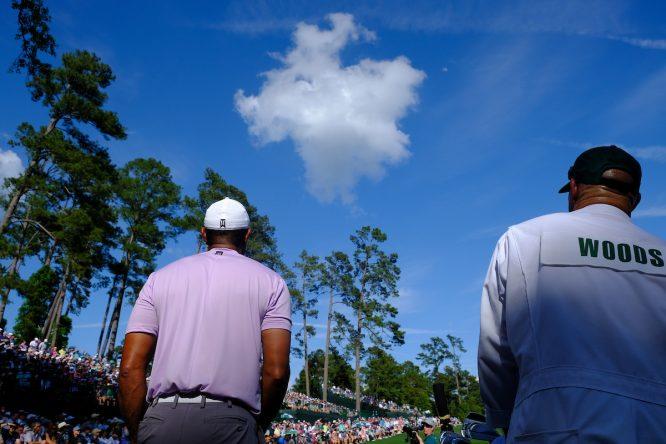 Tiger Woods en el Masters de Augusta 2019. © Golffile | Fran Caffrey