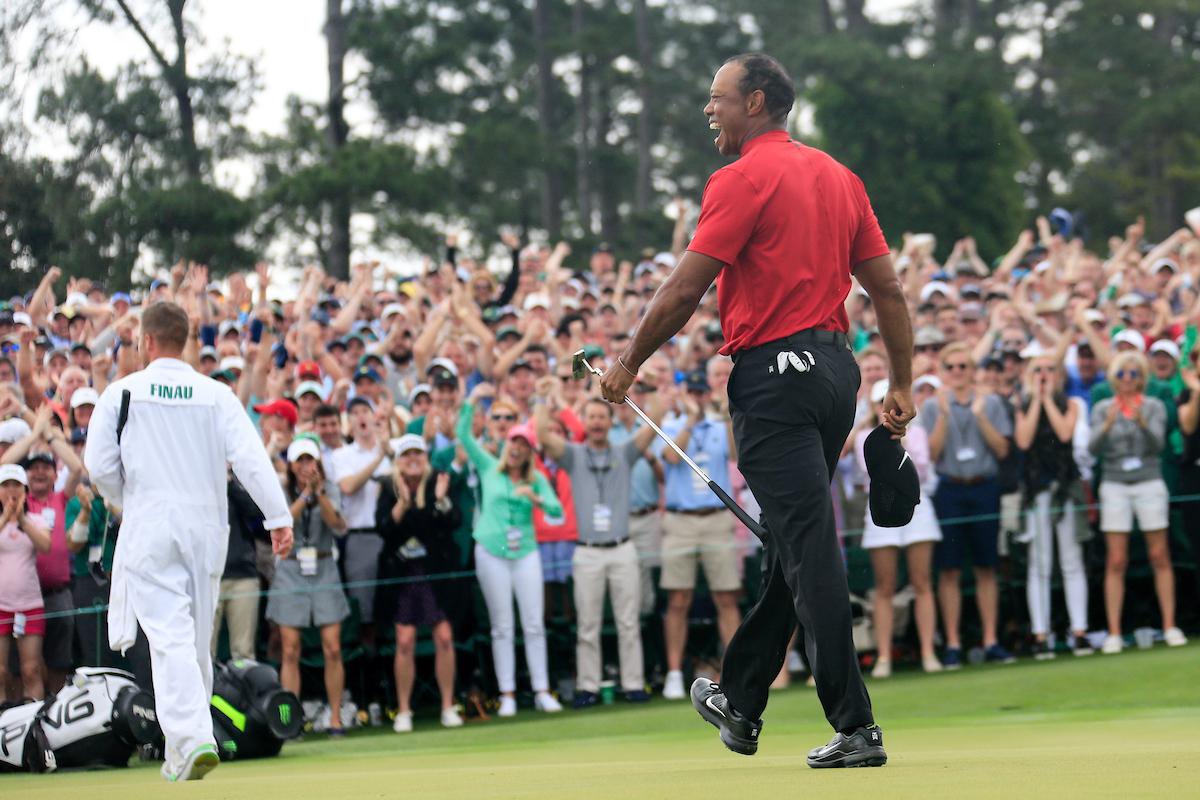 Tiger Woods. © Golffile | Fran Caffrey