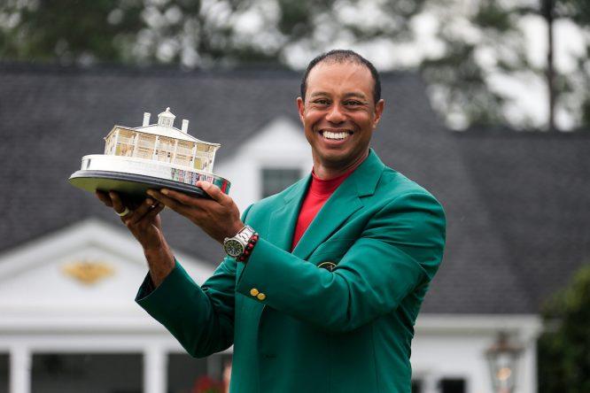 Tiger Woods, ganador del Masters de Augusta 2019. © Golffile | Fran Caffrey