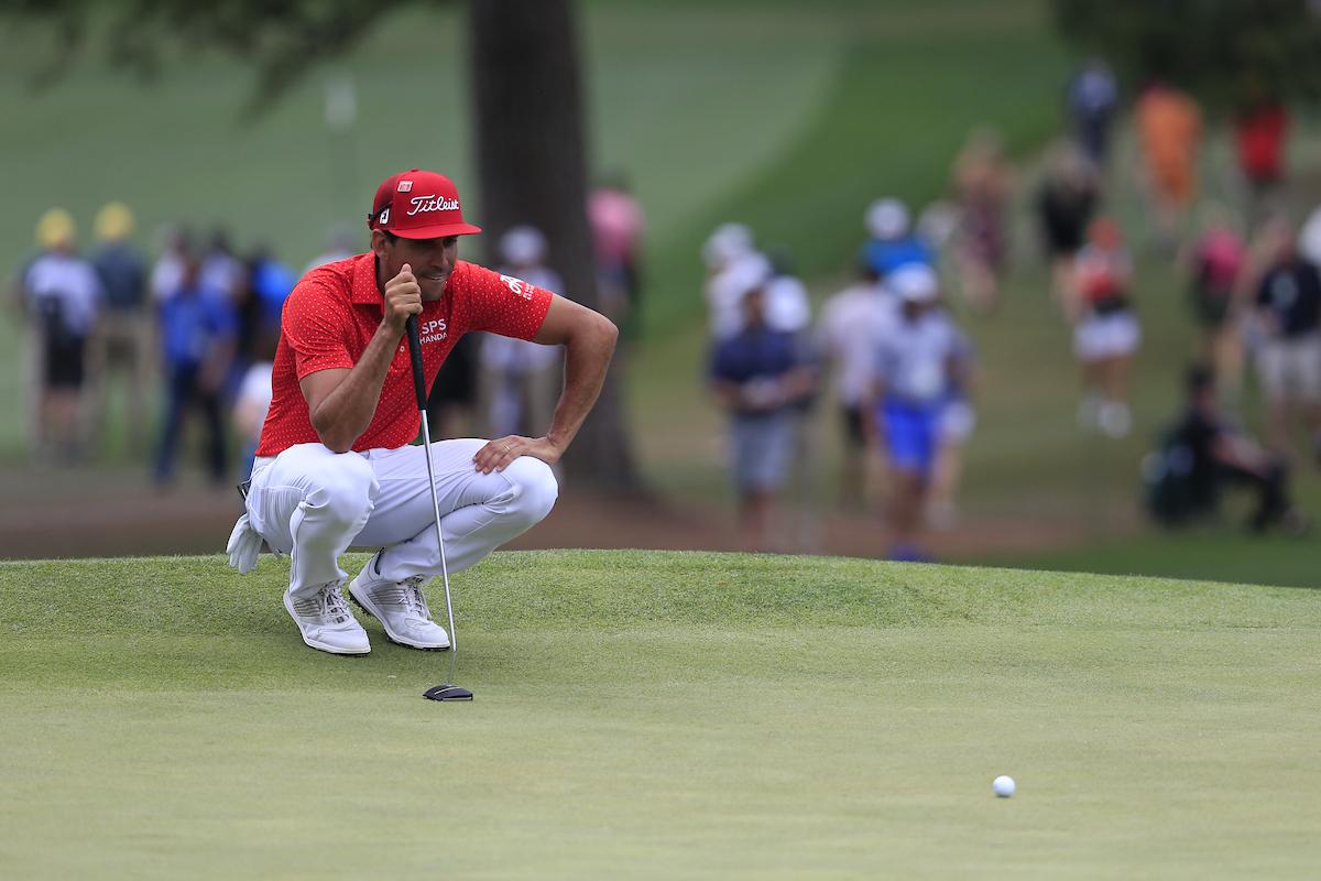 Rafa Cabrera Bello en el Masters de Augusta 2019. © Golffile | Fran Caffrey