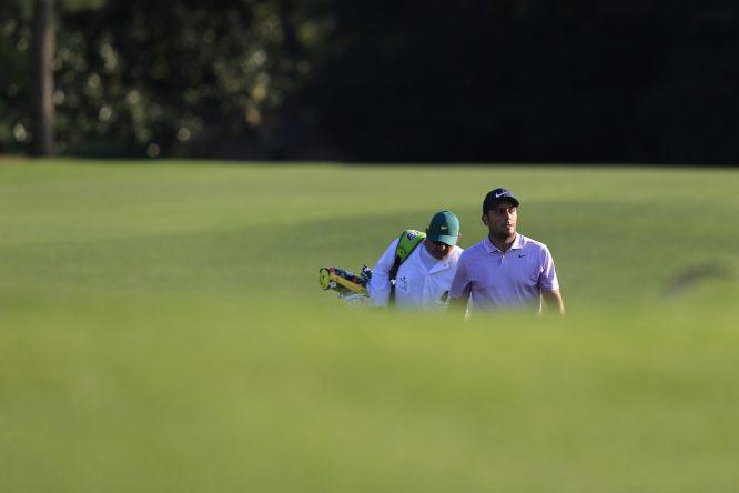 Francesco Molinari y Pello Iguarán. © Golffile | Fran Caffrey