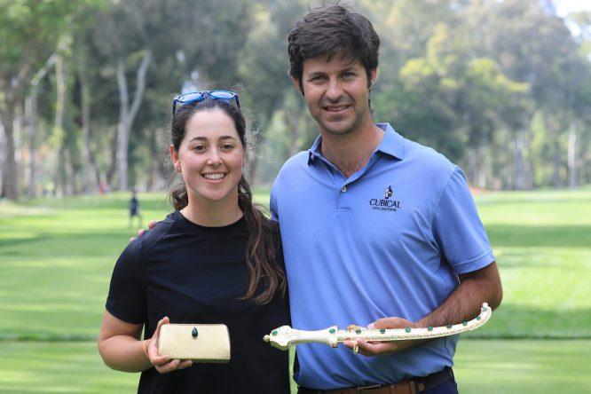 Jorge Campillo y Nuria Iturrios © Golffile | Phil Inglis