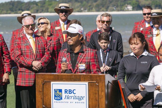 Satoshi Kodaira, ganador el pasado año © RBC Heritage