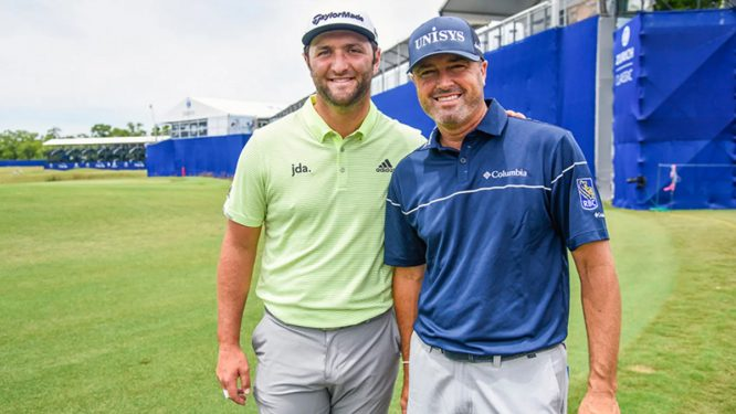 Jon Rahm y Ryan Palmer © PGA Tour