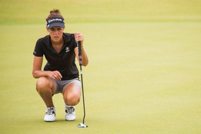 Meghan MacLaren, durante la ronda final en Jordania. © Tristan Jones