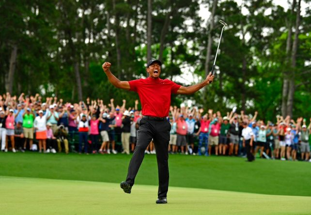 Tiger Woods © The Masters