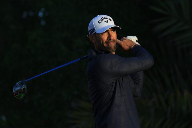 Álvaro Quirós. © Thos Caffrey | Golffile