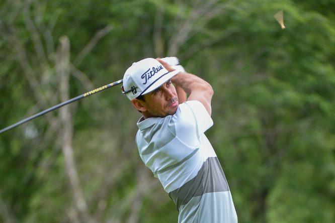 Rafa Cabrera Bello, durante la tercera ronda del AT&T Byron Nelson. © Golffile | Ken Murray