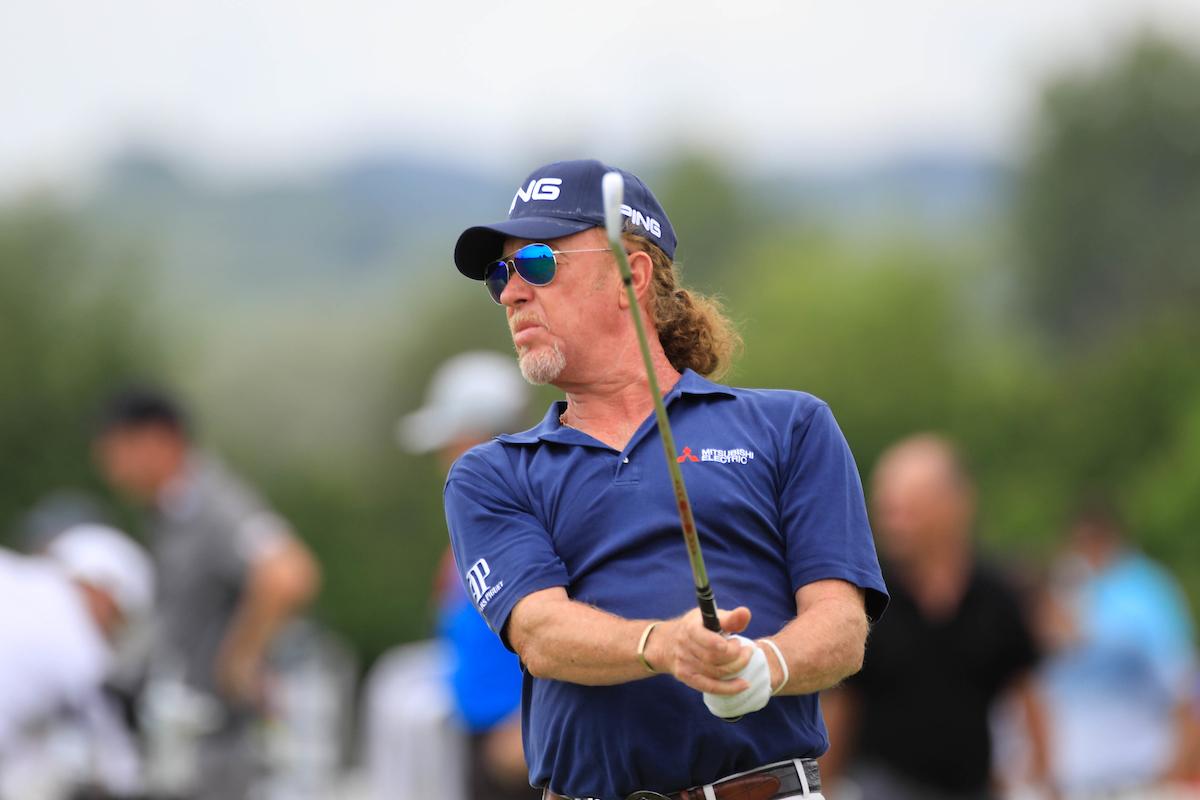 Miguel Ángel Jiménez. © Golffile   Phil Inglis