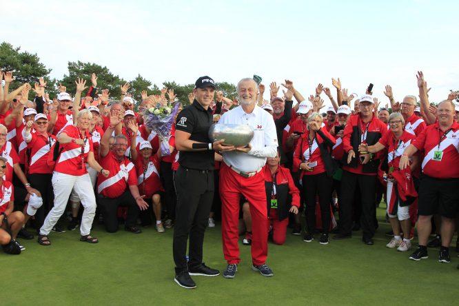 Matt Wallace, ganador en 2018 © Golffile | Thos Caffrey