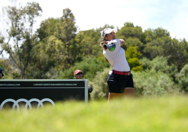 María Parra durante la tercera jornada en La Reserva Club de Sotogrande.