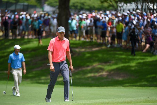 Jordan Spieth, ayer en Colonial. © Golffile | Ken Murray
