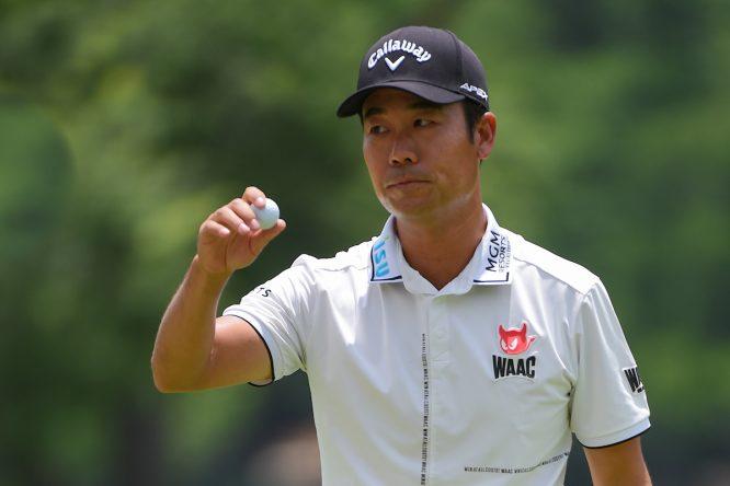 Kevin Na, durante la tercera ronda en Colonial. © Golffile   Ken Murray