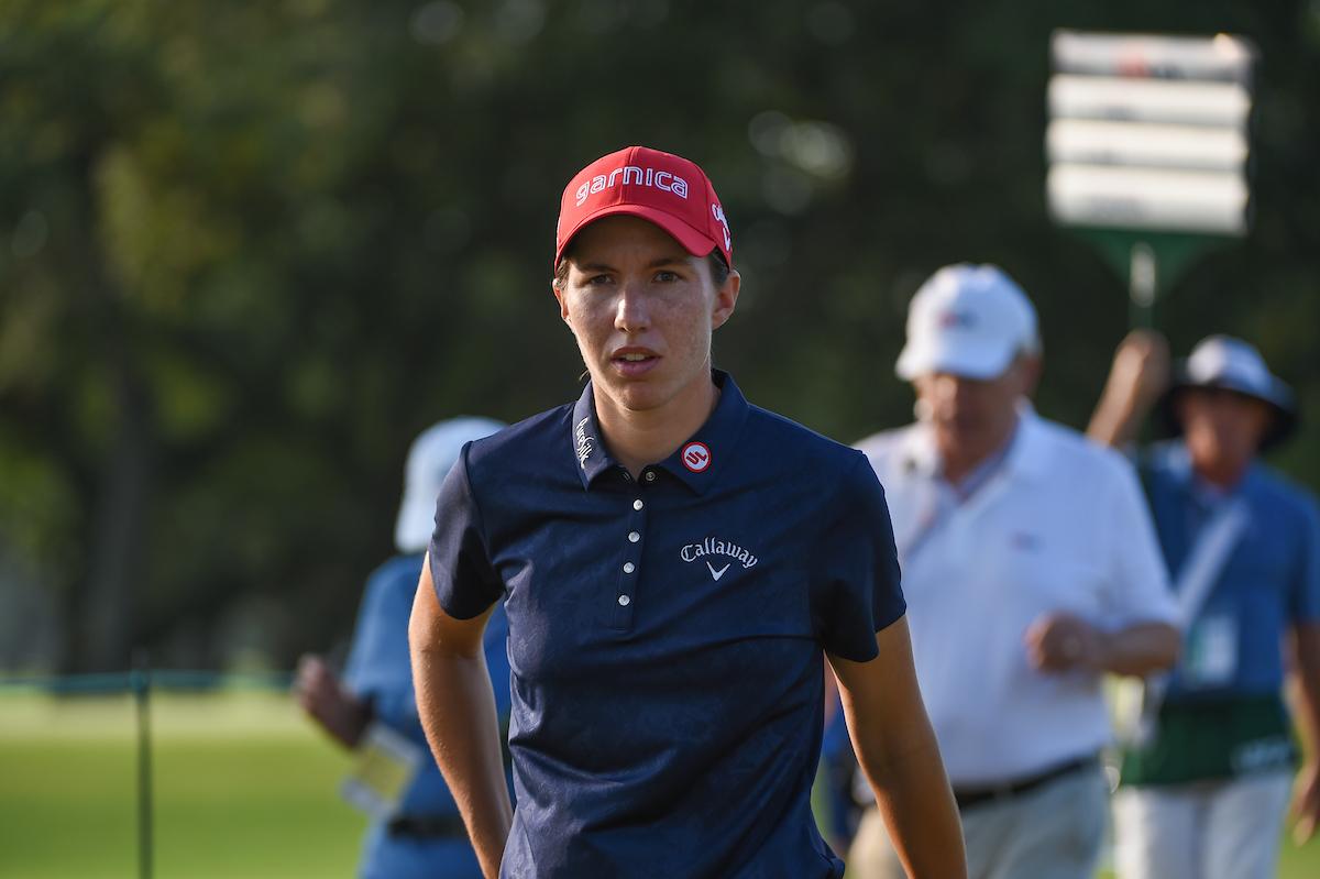 Azahara Muñoz, quinta en el US Open femenino — Golf