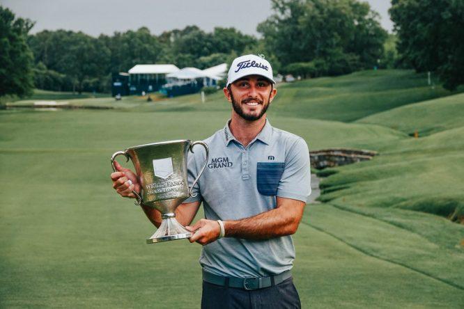 Max Homa, campeón defensor esta semana en el Wells Fargo Championship© PGA Tour